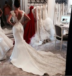 Steven Khalil Wedding Dress