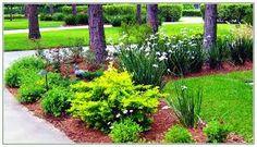 Corner Lot landscaping design.