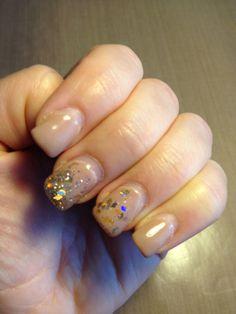 Elegant gel nails.