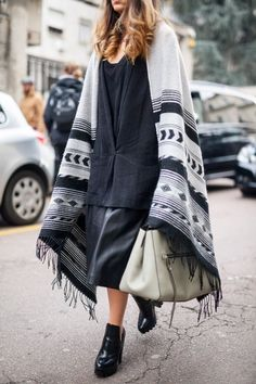 Strong poncho game. #MFW
