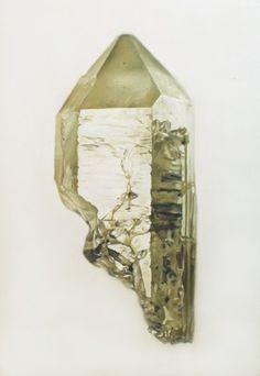 Carly Waito's beautiful paintings of gemstones