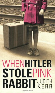 """When Hitler Stole the Pink Rabbit"" is about a girl who with her family flees Hitler and the Nazis. A brave story about a girl adapting to new places and difficulties, which was inspirational to me when I was younger."