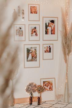 DIY déco : un mur de cadres bohème - C by Clemence Photo Cabine, Style Retro, Jolie Photo, Decoration, Gallery Wall, Frame, Blog, Home Decor, White Picture Frames