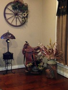 My mommas country living room decor