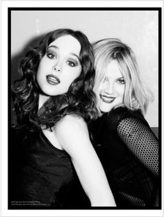 ellen von unwerth drew barrymore photography | Ellen von Unwerth shoots Drew Barrymore, Ellen Page, Juliette Lewis ...