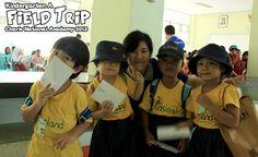 Field trip Kindergarten A at Kantor Pos