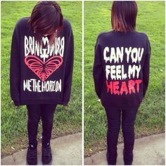 Bring Me The Horizon ~ Can You Feel My Heart sweater