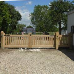 Gate to cornfield Driveway Gate, Fence Gate, Fences, Outdoor Areas, Outdoor Structures, Belgian Style, Wooden Gates, Fence Design, Trellis