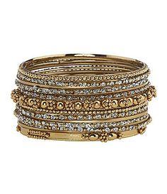 Natasha Bangle Bracelet Sets
