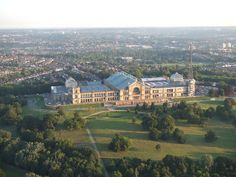 Alexandra Palace, London - 'the birthplace of television' when the BBC began broadcasting the  world's first regular, high definition, public television service from here in 1936