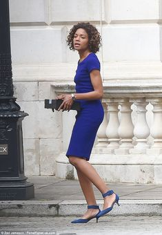 British actress Naomie Harris