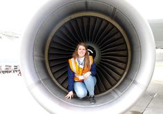 Inside the Airbus A320 Engine!  - #me #inside #airbus #a320 #engine #flyedelweiss #airbuslovers #awesome #planeporn #planecrazy #avgirl #avgeek #love #aviation #passion #crewlife #ramp #tour #airside #crewview #instagramaviaton #swissport #friends #fun #instaphotography #instagood #tweegram #instaaviation #bestoftheday #picoftheday by deliafrauenfelder