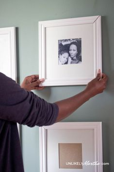 DIY tips on how to hang a gallery wall