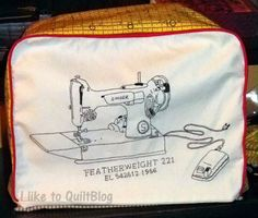 I like to QuiltBlog: Singer Featherweight 221
