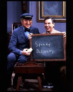 Guess you couldn't have a kiddie show mailman named Mr. McFeely these days. I'll say it again, 1970s - Good times!