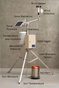 Automatic Weather Station - See more weather related products at: http://tonysweatherstore.com