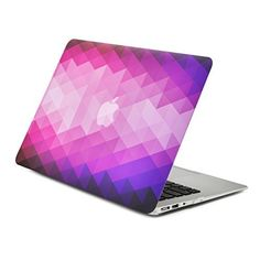 """UNIK CASE-Frosted Coating Rubberized Hard Case for Macbook 11/"""" Air-Clear"""