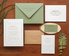 color palette & wedding suite & styling.