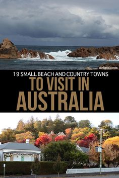 Want to get off the beaten path in Oz? Put any of these small towns in Australia straight onto your itinerary and experience the country from a local's POV. Brisbane, Melbourne, Sydney, Australia Travel Guide, Visit Australia, Australia Holidays, Cairns Australia, South Australia, Western Australia