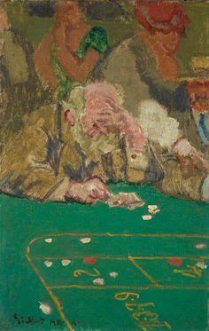 The System by Walter Richard Sickert - Cd Paintings Chuck Close, Gerhard Richter, Walter Sickert, Systems Art, Modernisme, Impressionist Artists, Post Impressionism, Art Uk, Illustrations