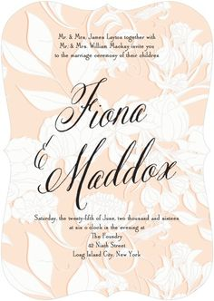 Pottery Barn Curated Wedding Stationery Collection | Wedding Paper Divas Blog