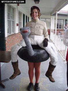 ostrich jockey?