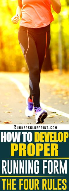 Good running form can help you run in the most efficient, the fastest manner possible, with the least risk of injury.  As a result, if you want to take your running to the next level, you MUST work on improving your training technique. If that's what you are after, then you are in the right plac #proper #running #form http://www.runnersblueprint.com/the-4-universal-laws-of-proper-running-form/