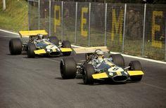 Brabham & Icks Brabham Mexique 1969