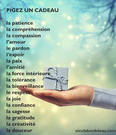 Citations de Nicole | Nicole Bordeleau Positive Life, Positive Attitude, Patience, Gratitude, La Compassion, Quote Citation, Holy Spirit, Meditation, Messages