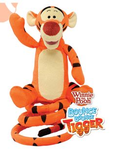 Winnie the Pooh Bounce Bounce Tigger - get him at a Walmart store near you!!