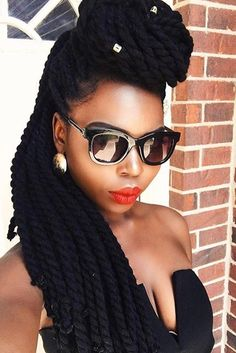 Fun and Flirty Twist Hairstyles ★ See more: http://lovehairstyles.com/fun-flirty-twist-hairstyles/