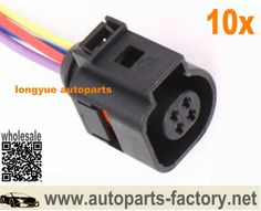 """long yue 4 WIRE ELECTRICAL PLUG PIGTAI HARNESS 4B0 973 712 4B0973712 8"""""""