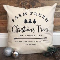 Burlap Christmas Tree, Fresh Christmas Trees, Christmas Pillow, Christmas Decor, Christmas Ideas, Merry Christmas, Holiday Decor, Throw Pillow Covers, Throw Pillows