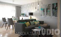 Szafirowy salon - zdjęcie od MIKOŁAJSKAstudio - Salon - Styl Art- deco - MIKOŁAJSKAstudio