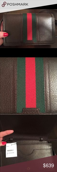 🎉 100% AUTHENTIC GUCCI  <final markdown > Very good condition , carried a couple times . Signature web crossbody. Classy leather Gucci web . Feel free to ask any questions. Not  accepting offers because I marked it down to my lowest . Unless you wish to purchase from  another few sites I'm on , I can lower price only because less fees . Paid 1,000 on eBay 2 months ago . Only reason for selling is have way too many bags . GREAT PRICE ! Comes with Gucci dust bag & Gucci box . Posh will…