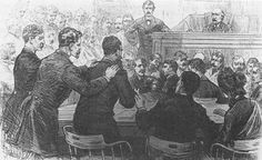 Assassination of President James Garfield - Assassin Charles Guiteau on trial...click pic to read full story