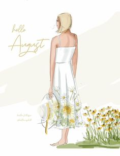 August Baby, Hello August, August Summer, Positive Quotes For Women, Positive Art, Positive Affirmations, Hello Weekend, Art Deco Posters, New Month