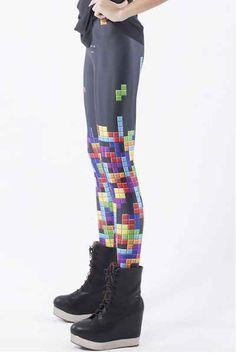 These Tetris leggings: | 28 Wardrobe Essentials For Female Gamers