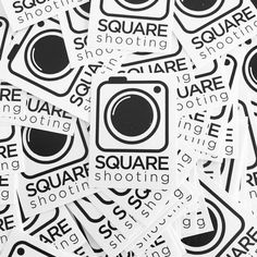 #SquareShooting #Stickers by #CreationForge for the #DowntownSpaces 2 year anniversary.