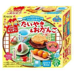Kracie Happy Kitchen DIY TAIYAKI & DANGO Candy Making Kit