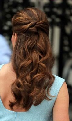 Kate Middleton hair-- a lighter spectrum of shades, beautiful twists