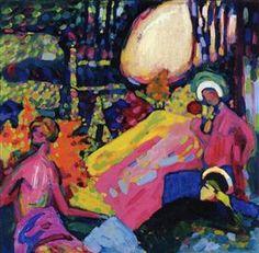 White sound -  Wassily Kandinsky