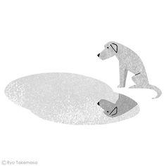 by Ryo Takemasa  one of my favorite dog illustrations (MZ)