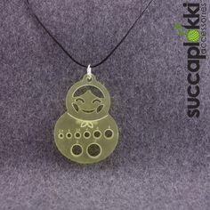 OLGA - Knitters pendant. $16.80, via Etsy. #gauge #knitting