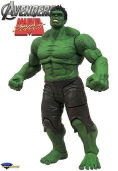 New Marvel Select Avengers Movie Hulk Action Figure just arrived. #Avengers #MarvelSelect #DST
