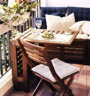 Un petit balcon optimisé - Marie Claire Maison