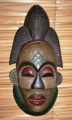 Máscara Africana - Bodega Fantástica - Cidade de Goiás - a photo ...