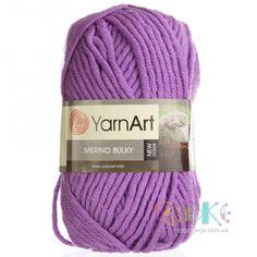 YarnArt Merino Bulky 30% Wool, 70% Acrylic 100 g Length of a reel: 100 m Needles #YarnArt