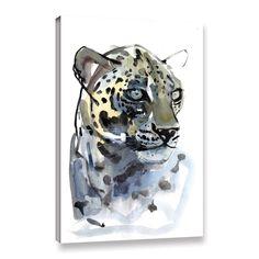 ArtWall Mark Adlington's 'Arabian Leopard I' Gallery Wrapped Canvas