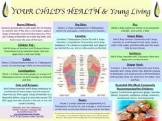 Your child's health and Young Living Essential Oils | For more info, visit: http://www.thesavvyoiler.com/